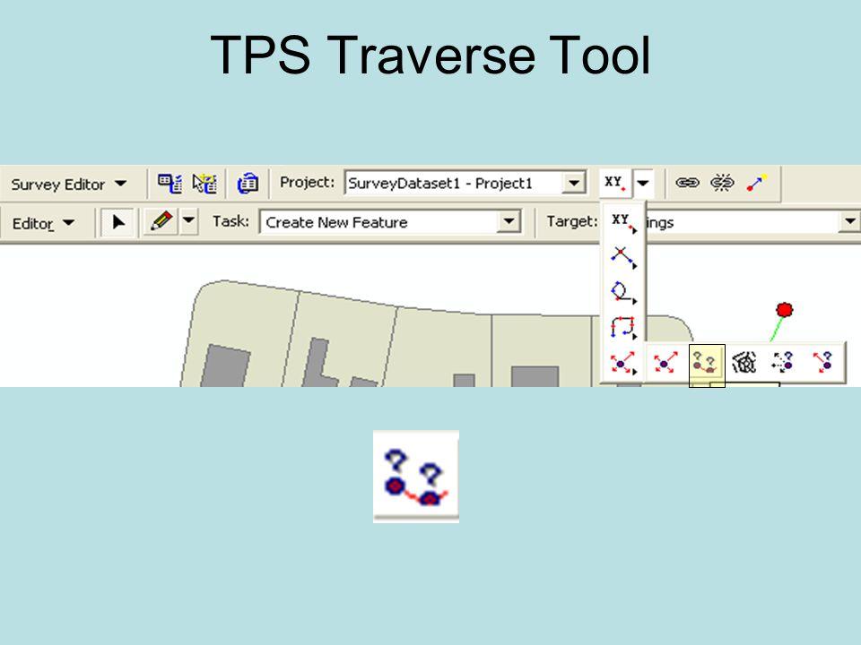 TPS Traverse Tool