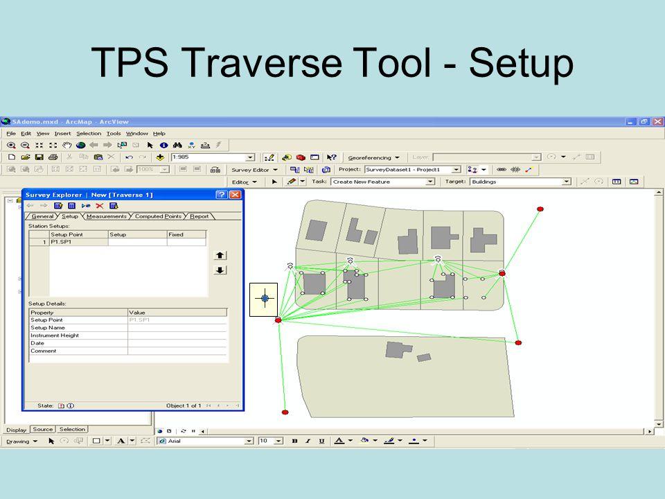 TPS Traverse Tool - Setup