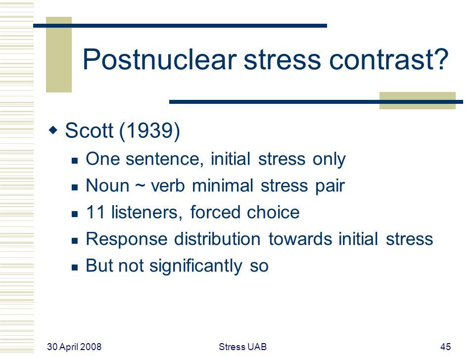 30 April 2008 Stress UAB45 Postnuclear stress contrast.