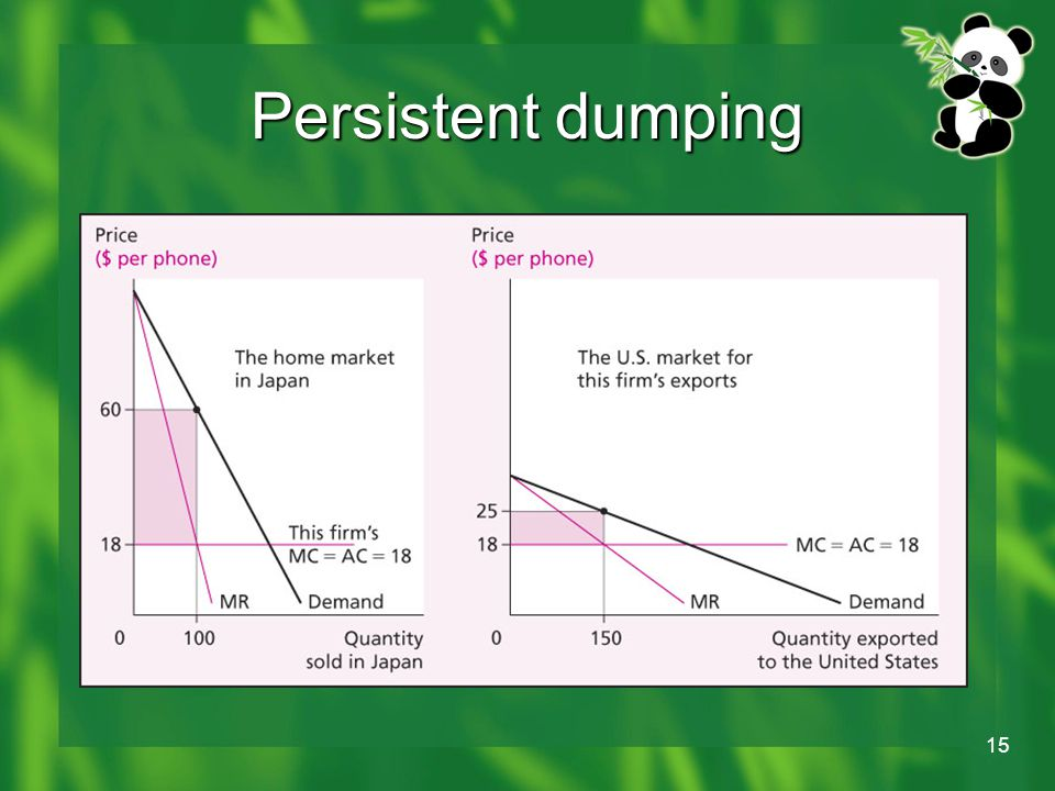 15 Persistent dumping