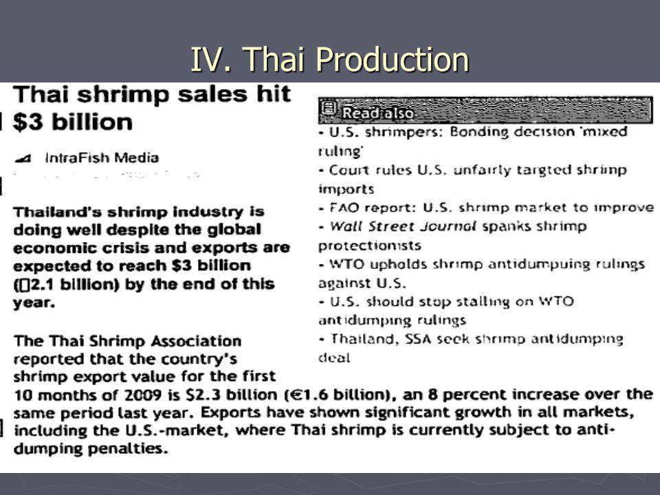 37 IV. Thai Production