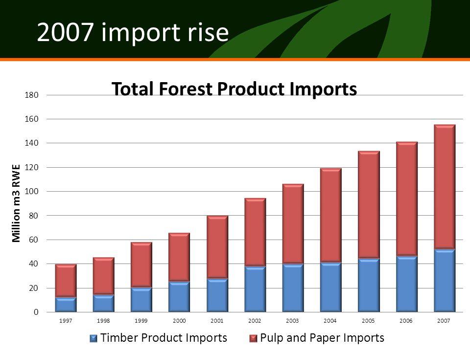 2007 import rise