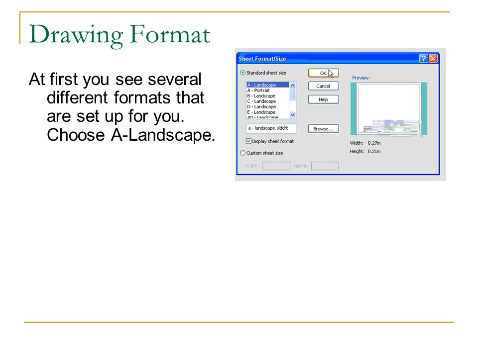 Drawings in Solidworks Change the isometric view to shaded with edges and add the MODEL ITEMS to reveal the dimensions.