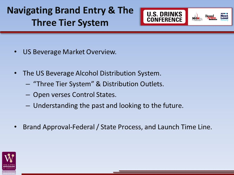 Navigating Brand Entry & The Three Tier System US Beverage Market Overview.