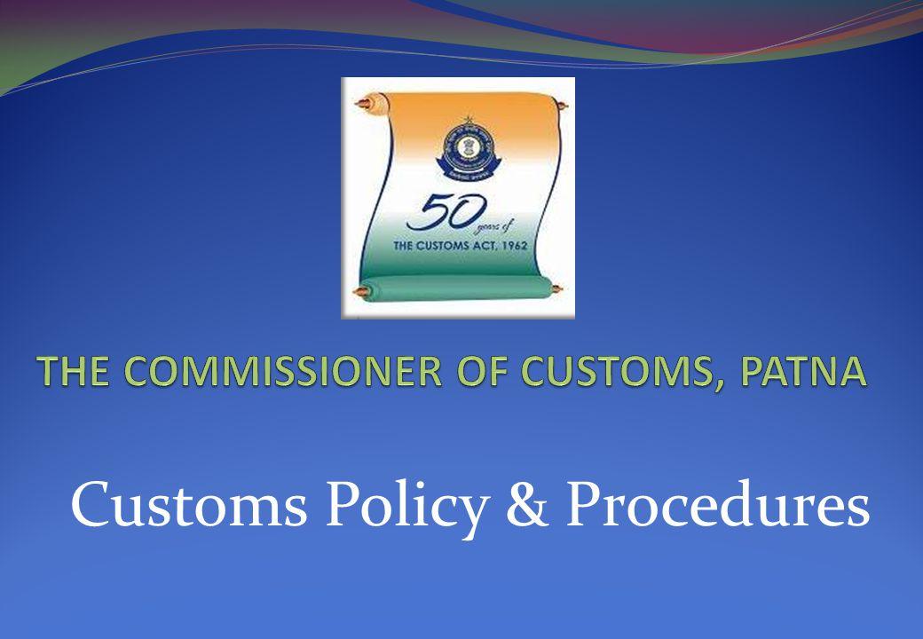 Customs Policy & Procedures