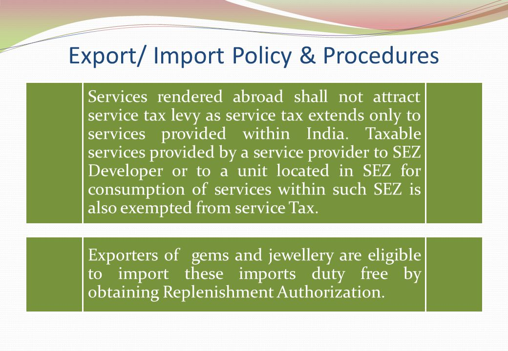 Services rendered abroad shall not attract service tax levy as service tax extends only to services provided within India. Taxable services provided b