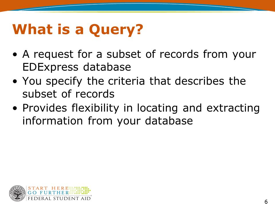 What is a Query.