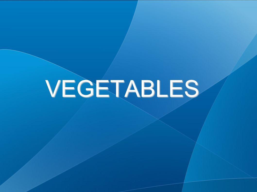 VEGETABLES VEGETABLES