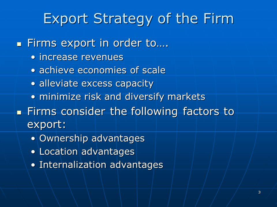 4 Phases of Export Development