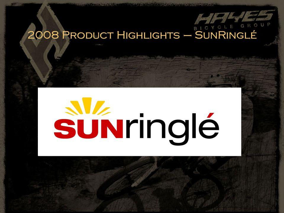 2008 Product Highlights – SunRinglé
