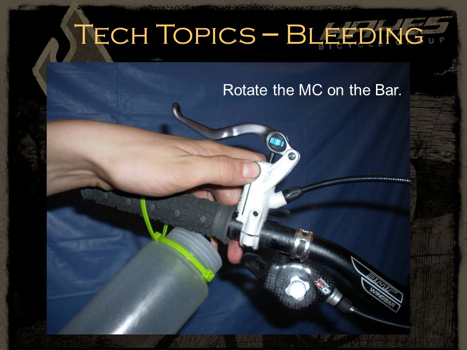 Rotate the MC on the Bar.