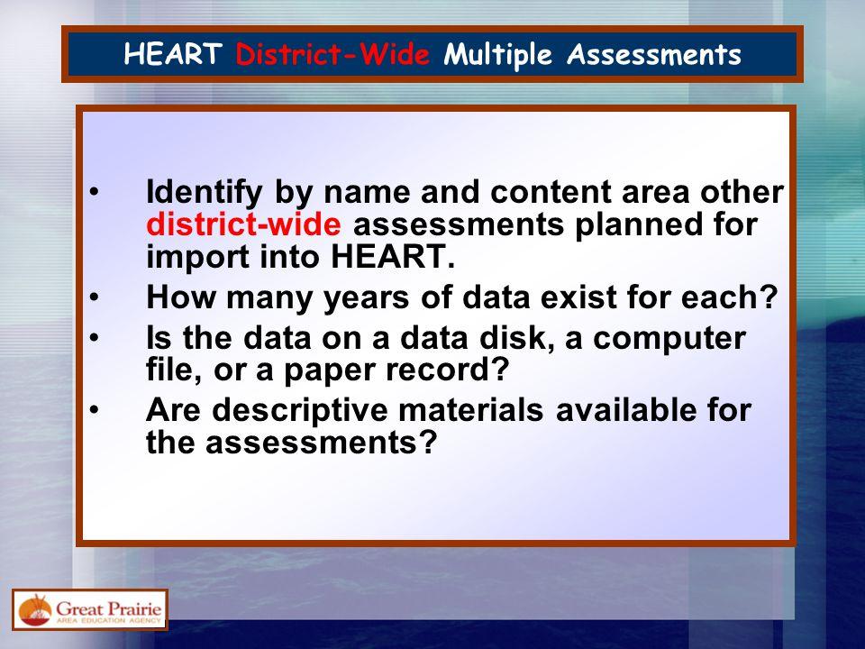 2. Import Other Test Information
