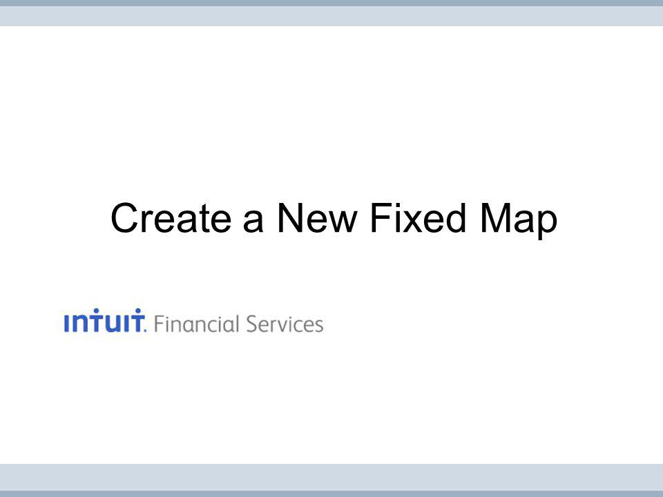 Create a New Fixed Map