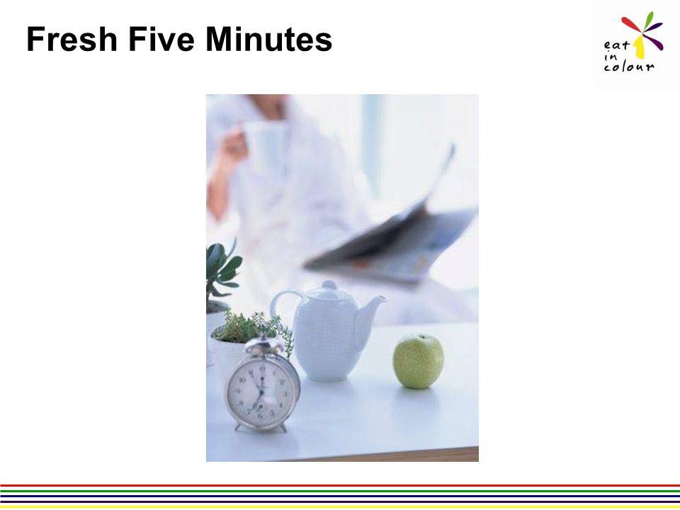 Fresh Five Minutes
