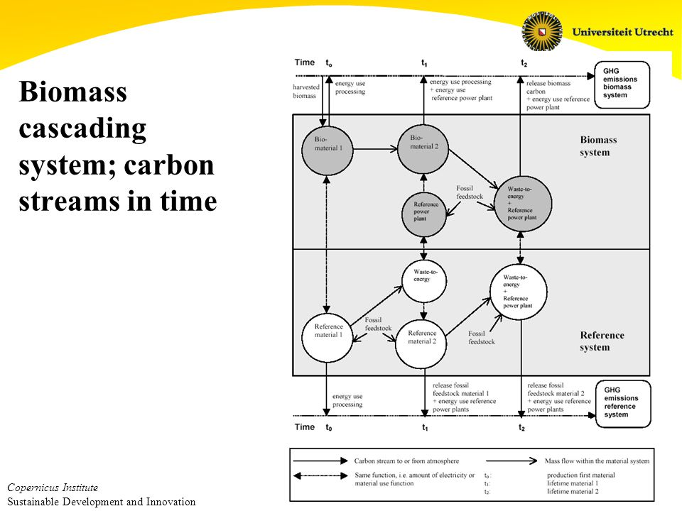 Copernicus Institute Sustainable Development and Innovation Carbon rules What benefits are allowed – forest protection, existing vegetation – credits for temporary storage What crediting system is used – based on in-and outflows (stock change) – based on storage times (ton-year)