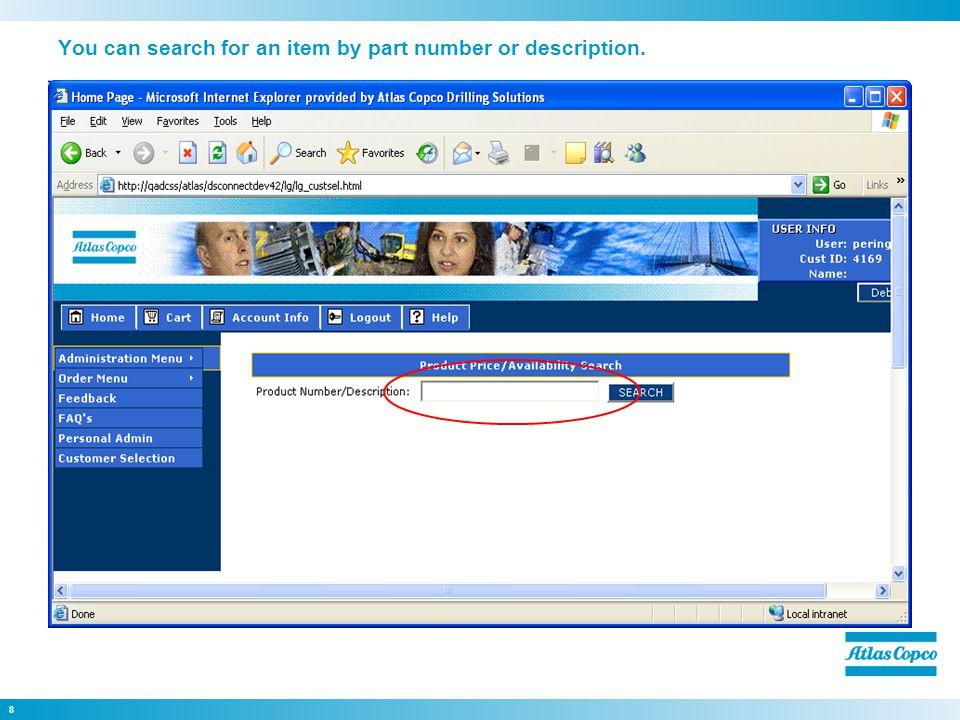 39 Click Import Return Request