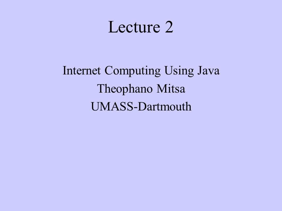 Reading assignment Chapter 3 (classes and objects)
