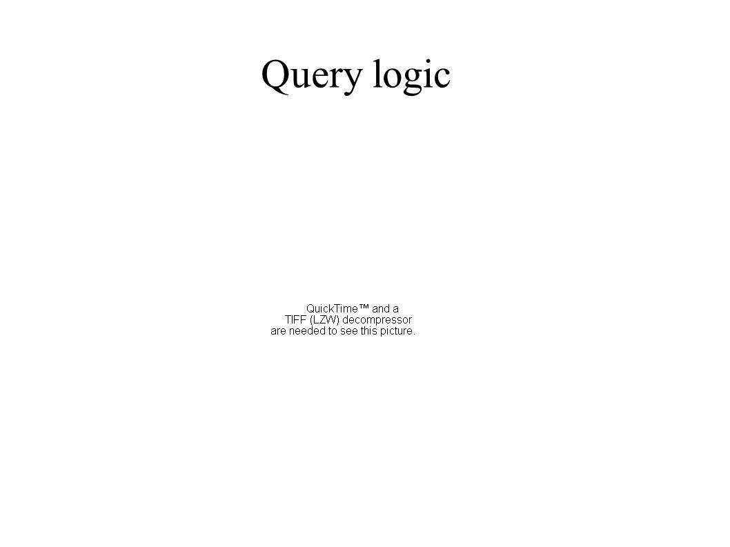 Query logic