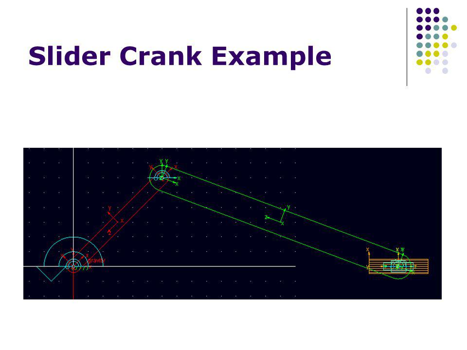 Slider Crank Example