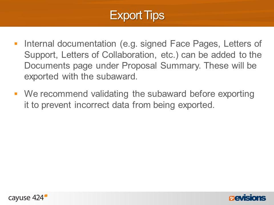  Internal documentation (e.g.