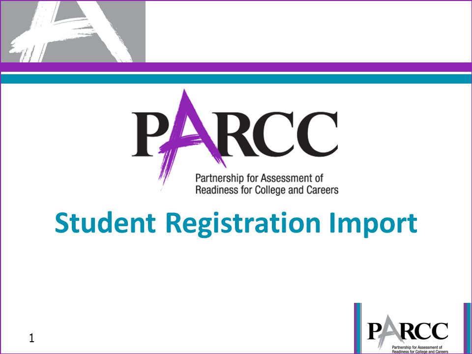 To begin creating your Student Registration File, go to PearsonAccessNext.com and select your State from the Select Your Program dropdown menu.