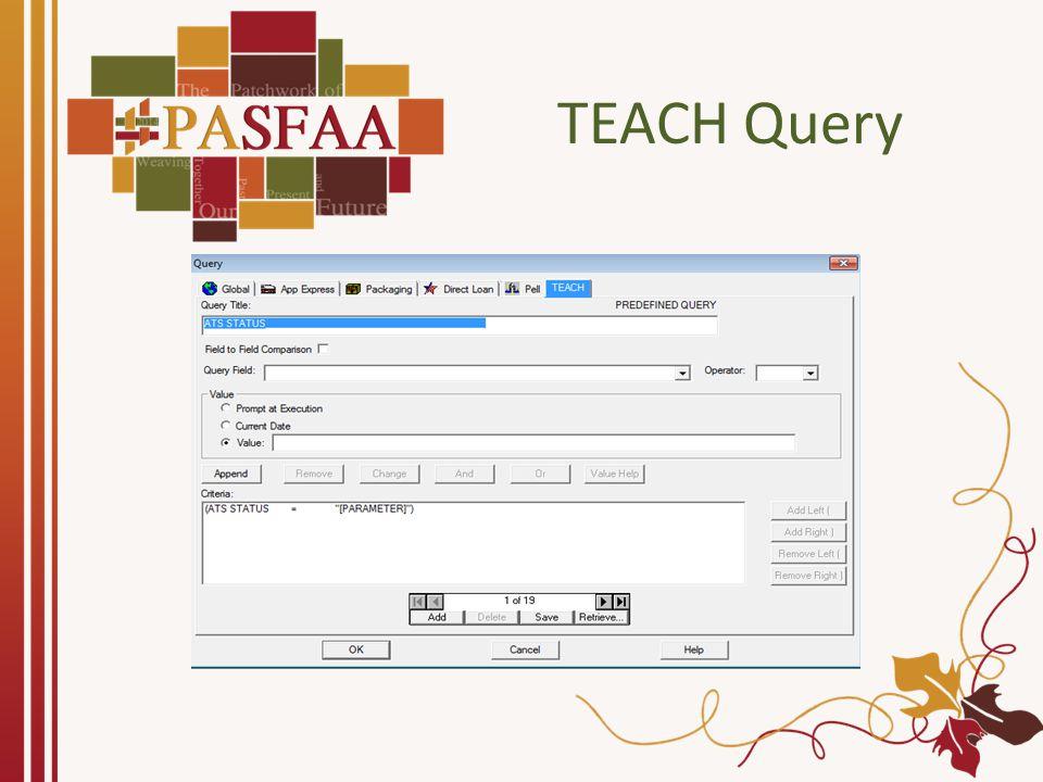 TEACH Query