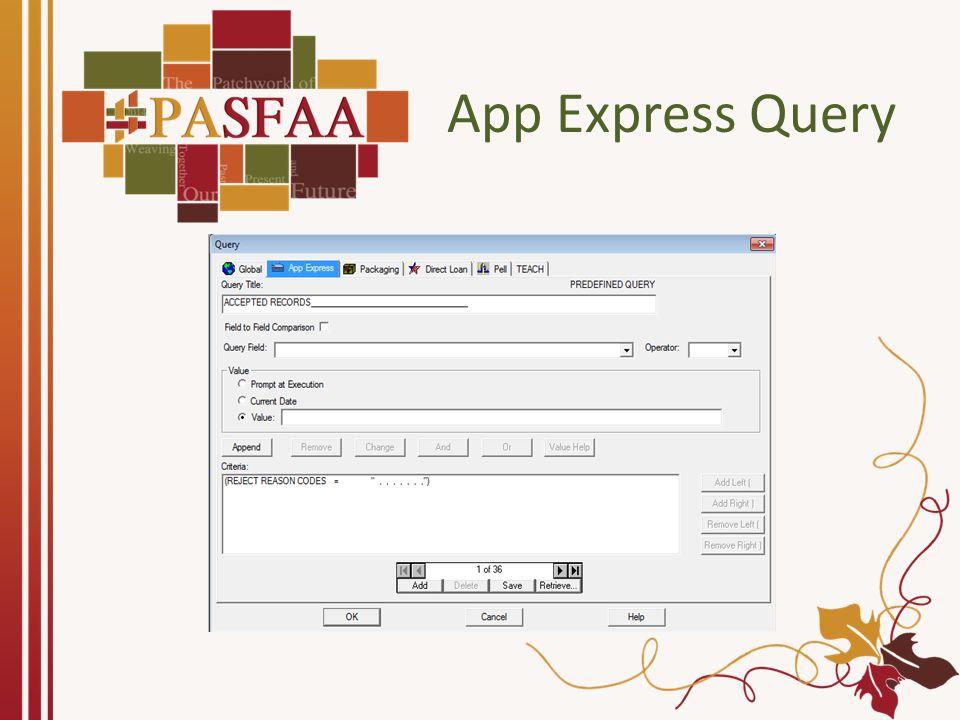 App Express Query