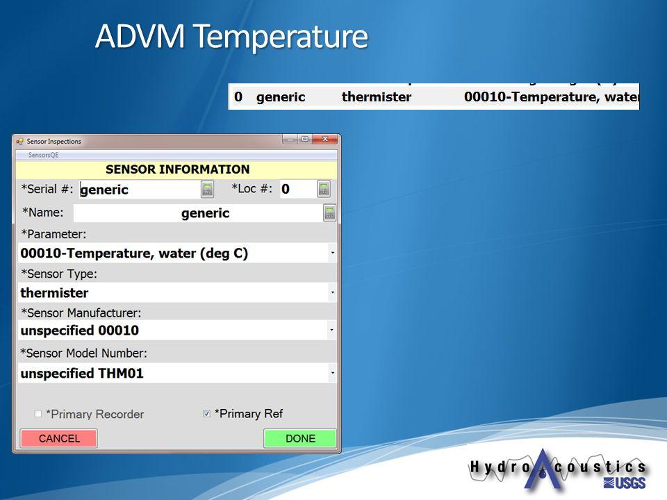 ADVM Temperature