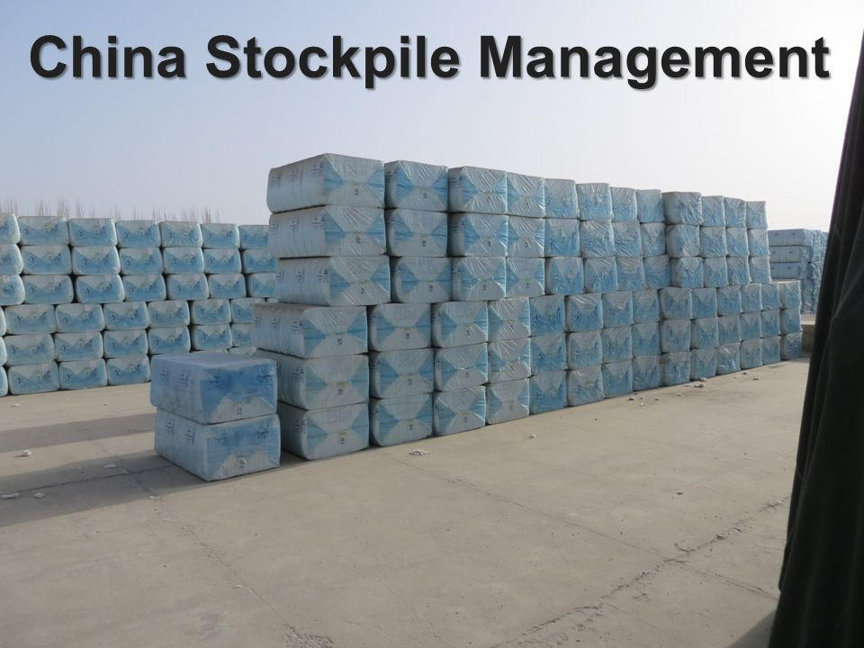 China Stockpile Management