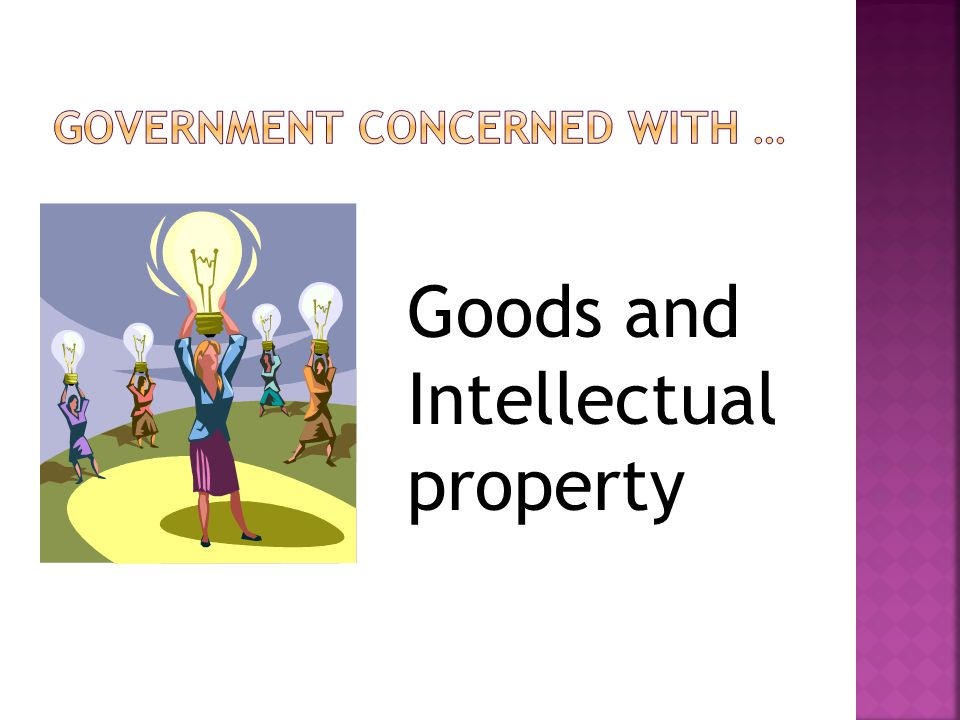 Goods and Intellectual property
