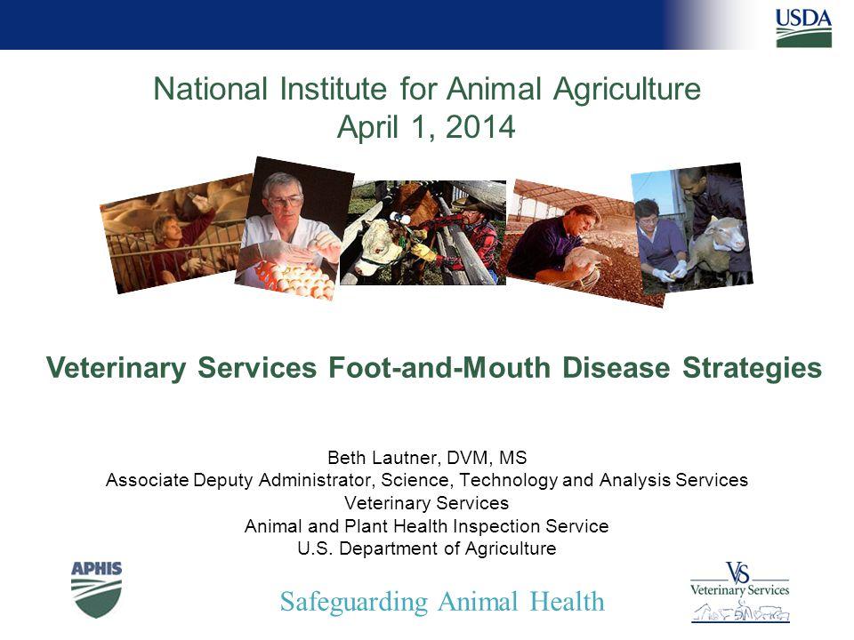 Safeguarding Animal Health Develop a Balanced Response Strategy