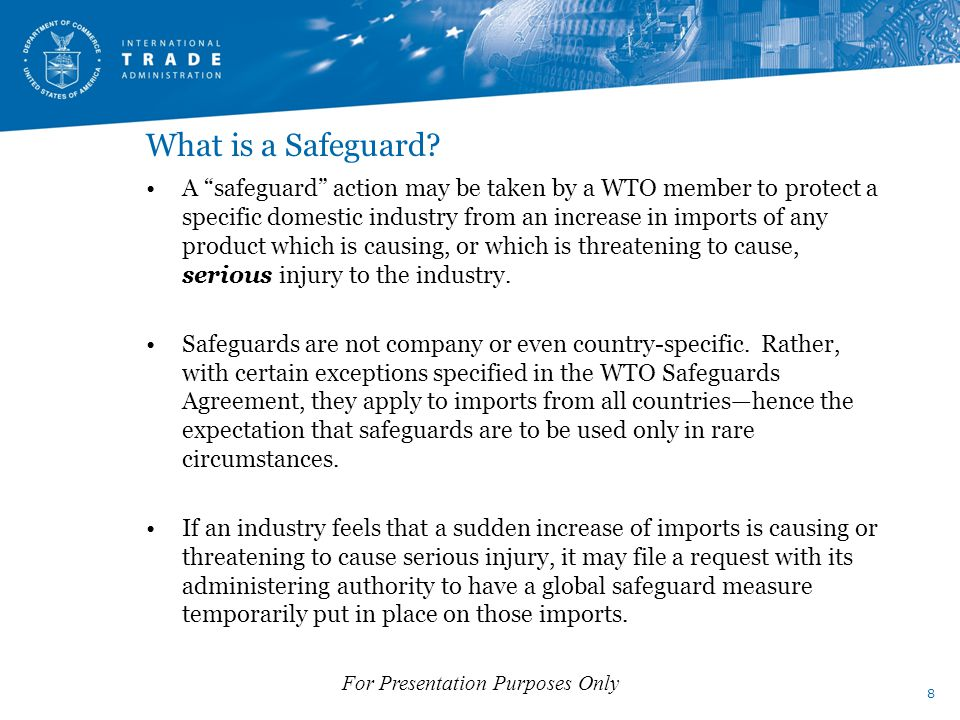What is a Safeguard.