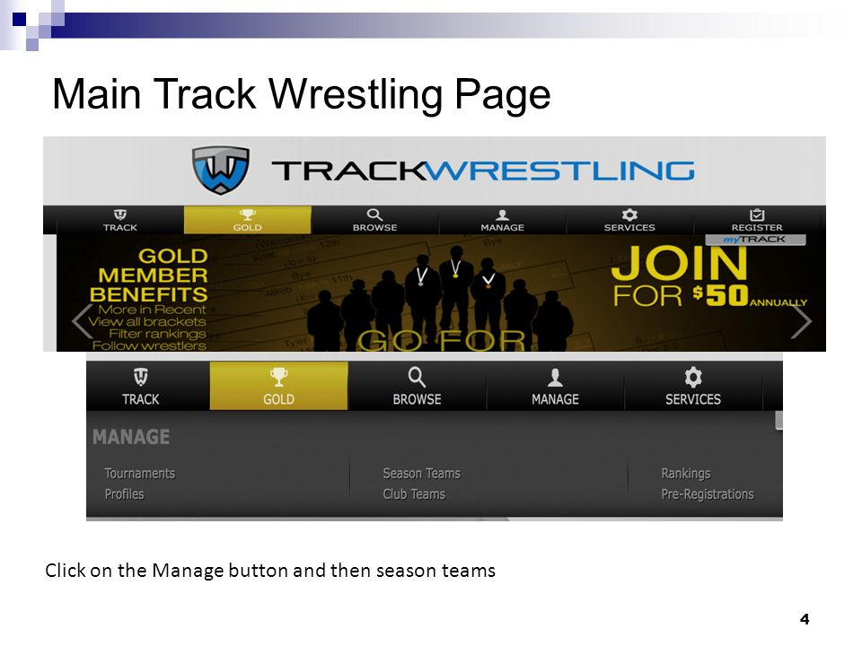 Adding a Weigh-in form – Step 3 Select wrestler to appear on weigh-in forms and then click add 25