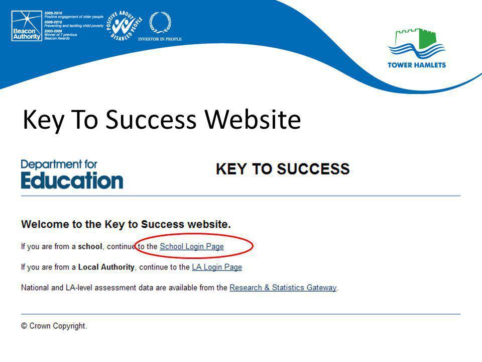 Key To Success Website