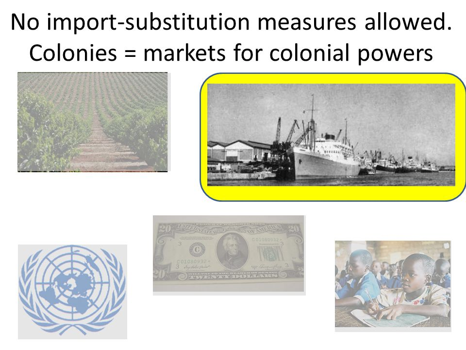 Allied victory / creation of UN led to social pressure for independence and progress