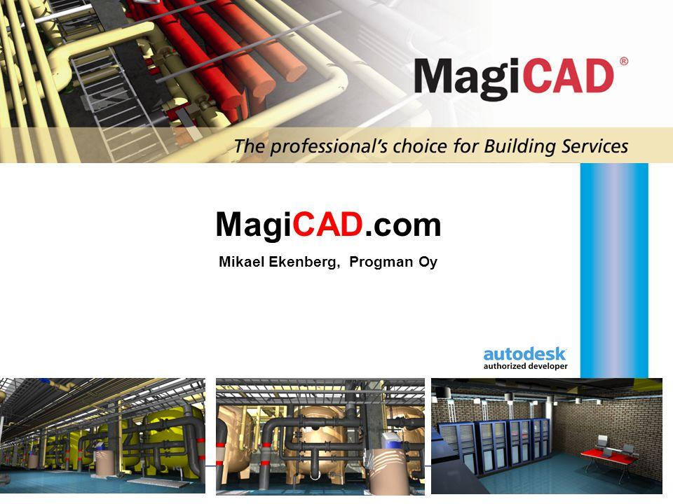 MagiCAD.com Mikael Ekenberg, Progman Oy