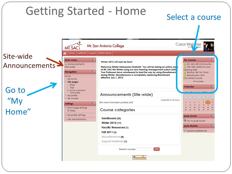 Activities Adding an activity 1. Click 2. Then 3. Select the activity