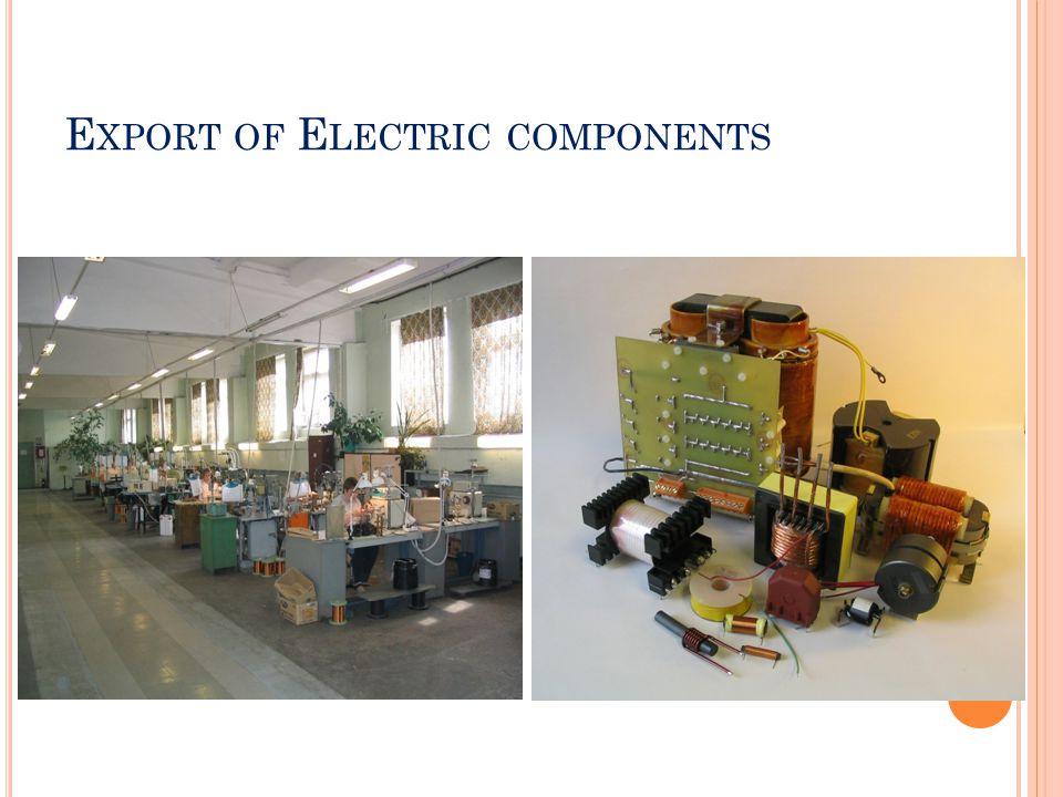 E XPORT OF ELECTRIC MACHINE UNITS