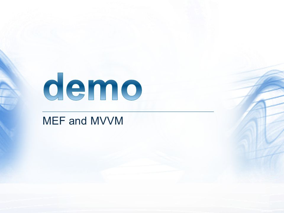 MEF and MVVM