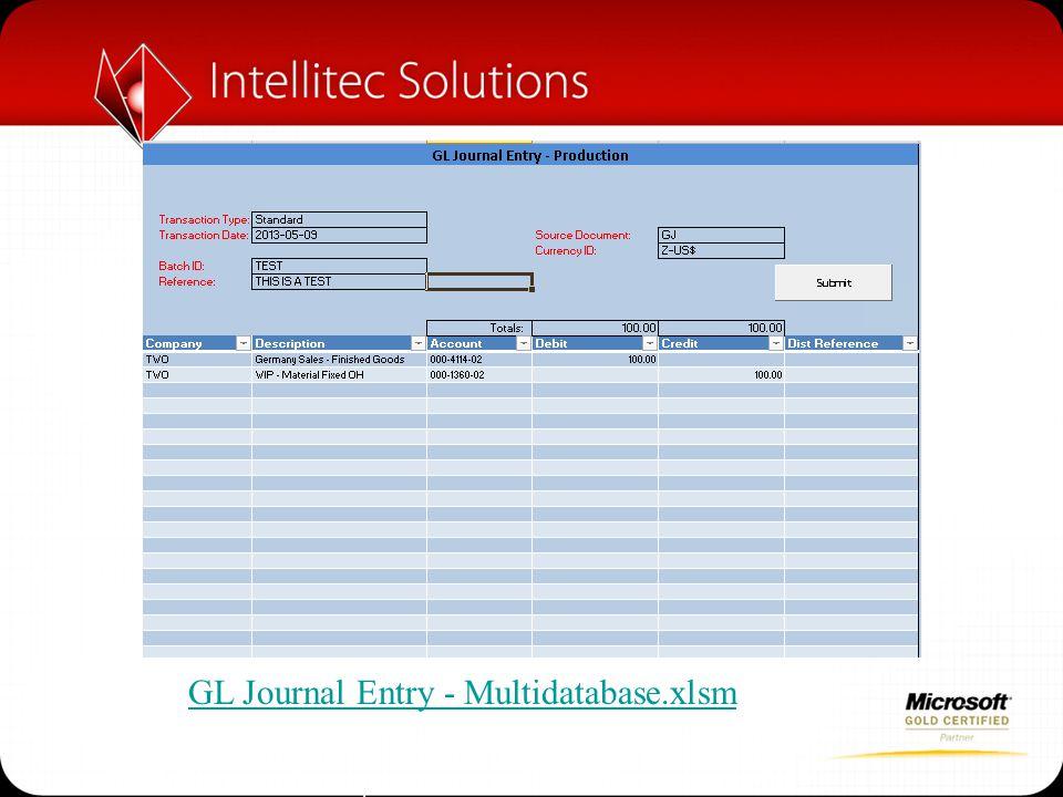GL Journal Entry - Multidatabase.xlsm
