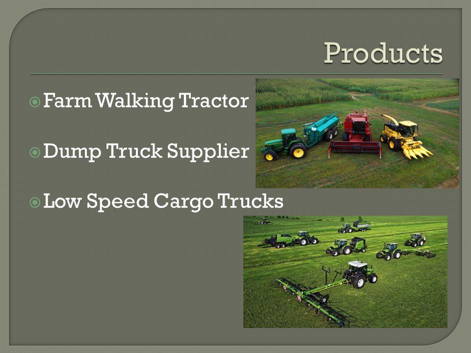  Farm Walking Tractor  Dump Truck Supplier  Low Speed Cargo Trucks