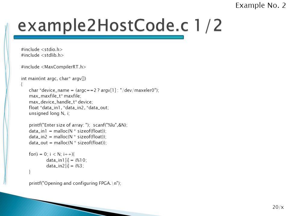 20/x #include int main(int argc, char* argv[]) { char *device_name = (argc==2 ? argv[1] :