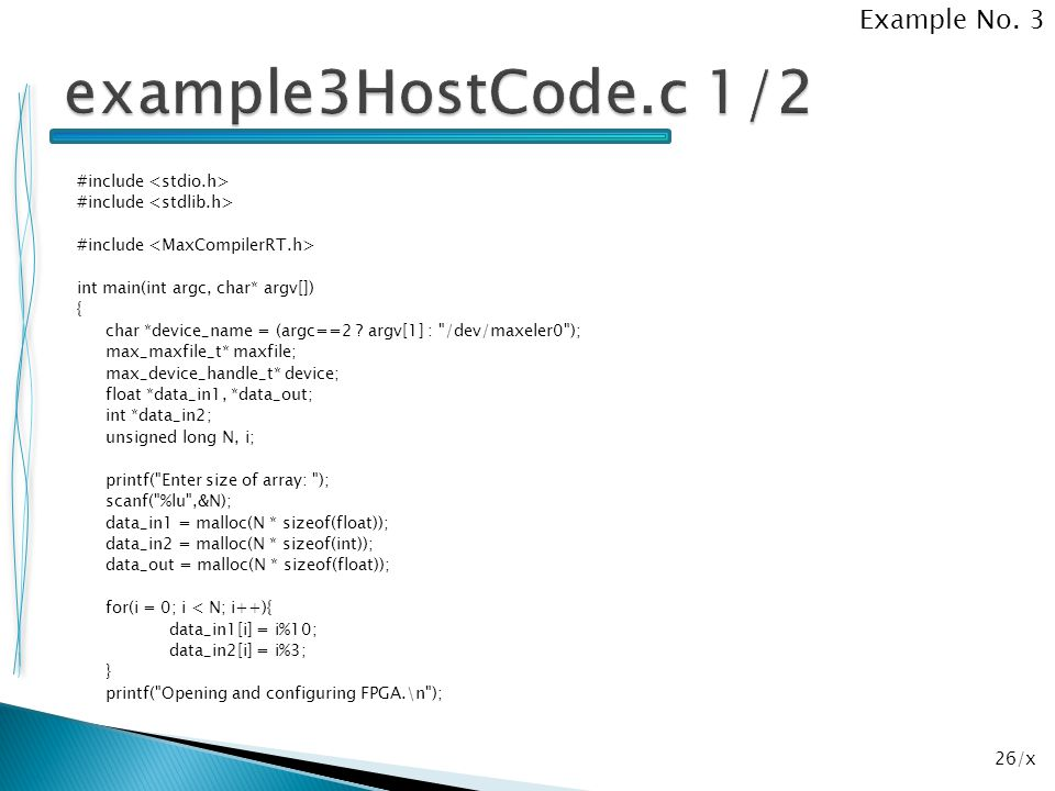 26/x #include int main(int argc, char* argv[]) { char *device_name = (argc==2 ? argv[1] :