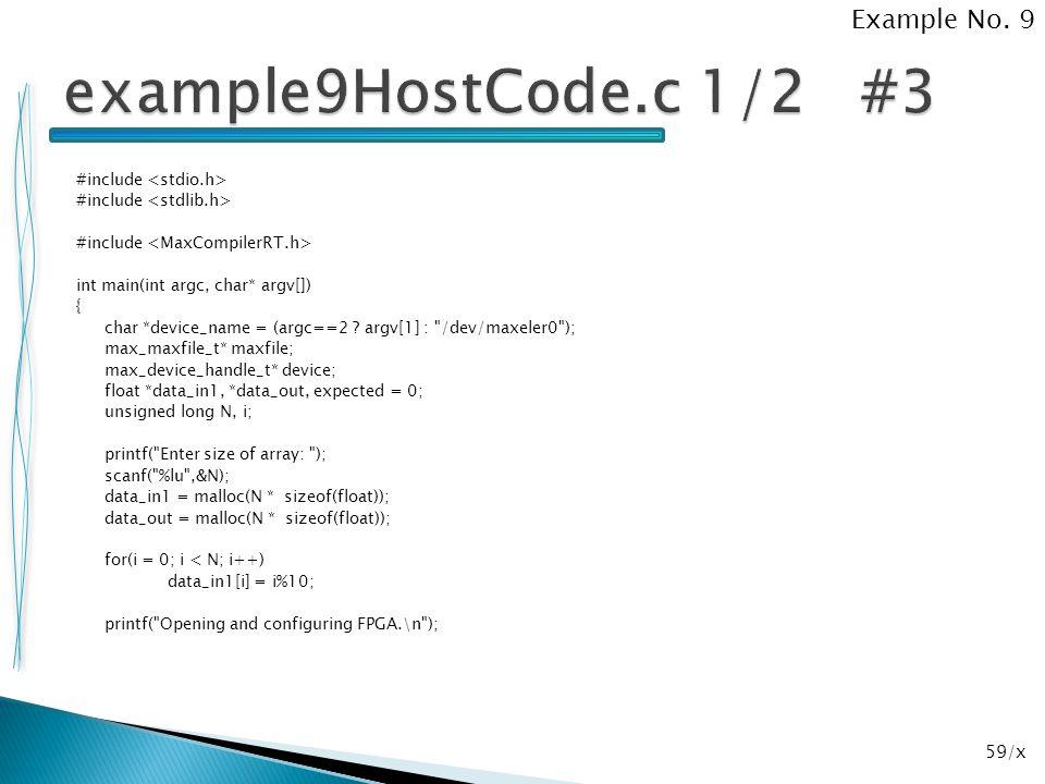 59/x #include int main(int argc, char* argv[]) { char *device_name = (argc==2 ? argv[1] :