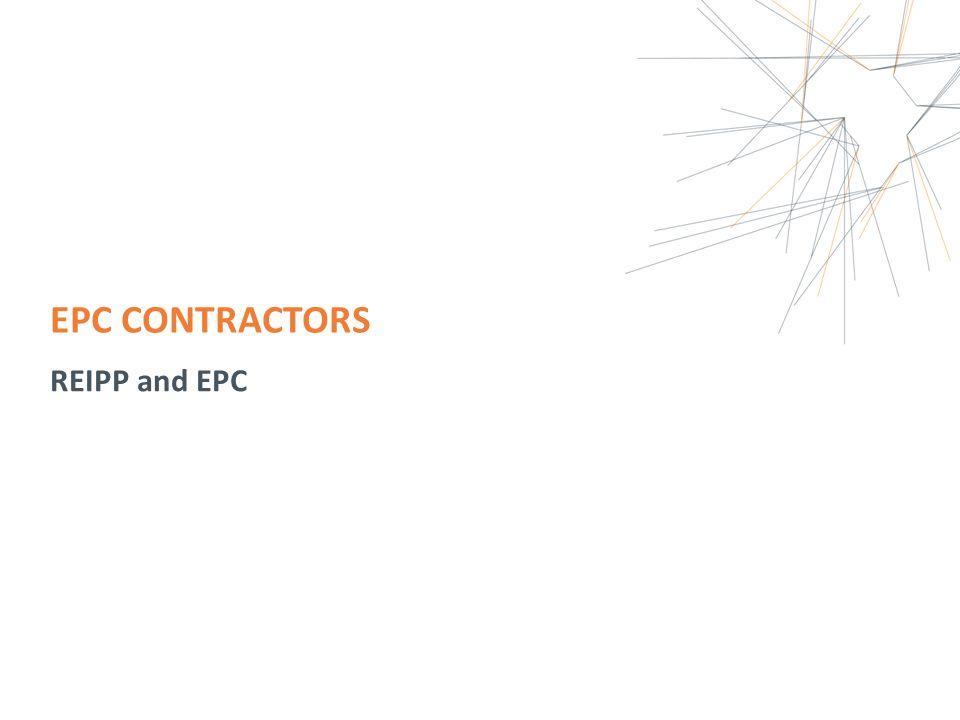 EPC CONTRACTORS REIPP and EPC