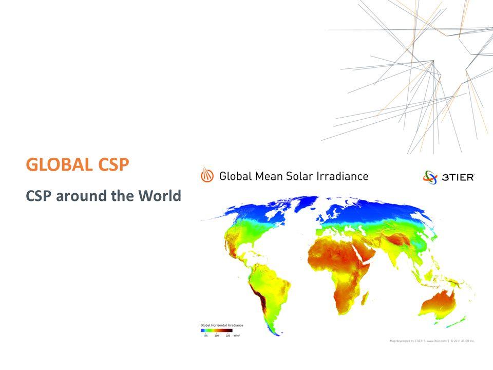 GLOBAL CSP CSP around the World