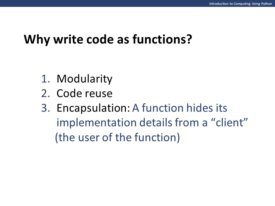 Introduction to Computing Using Python Catching and handling exceptions It is possible to override the default behavior (print error information and crash ) when an exception is raised, using try / except statements strAge = input( Enter your age: ) intAge = int(strAge) print( You are {} years old. .format(intAge)) strAge = input( Enter your age: ) intAge = int(strAge) print( You are {} years old. .format(intAge)) try: strAge = input( Enter your age: ) intAge = int(strAge) print( You are {} years old. .format(intAge)) except: print( Enter your age using digits 0-9! ) try: strAge = input( Enter your age: ) intAge = int(strAge) print( You are {} years old. .format(intAge)) except: print( Enter your age using digits 0-9! ) >>> ======================== RESTART ======================== >>> Enter your age: fifteen Traceback (most recent call last): File /Users/me/age1.py , line 2, in intAge = int(strAge) ValueError: invalid literal for int() with base 10: fifteen >>> >>> ======================== RESTART ======================== >>> Enter your age: fifteen Traceback (most recent call last): File /Users/me/age1.py , line 2, in intAge = int(strAge) ValueError: invalid literal for int() with base 10: fifteen >>> >>> ========== RESTART ========== >>> Enter your age: fifteen Enter your age using digits 0-9.