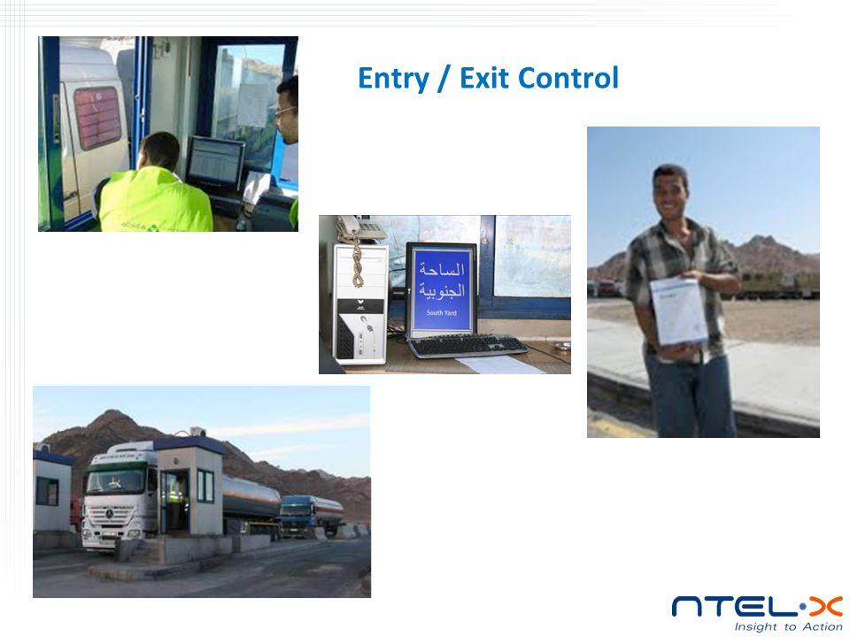 Entry / Exit Control
