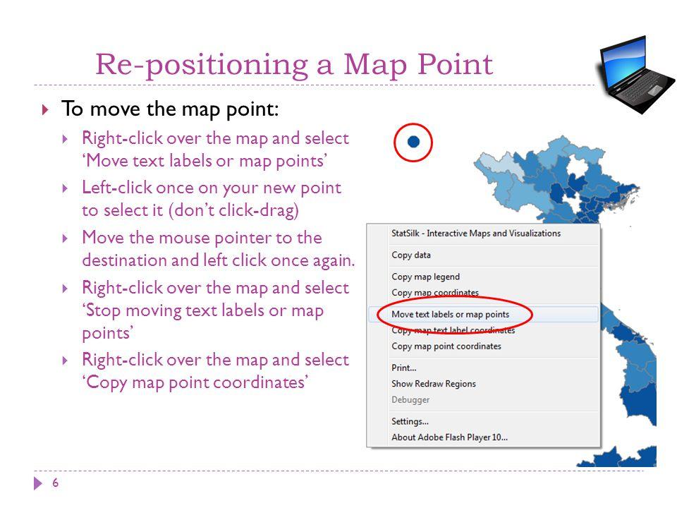 Configure a Permanent Custom Region  Go to the Data Editor – Map regions worksheet.