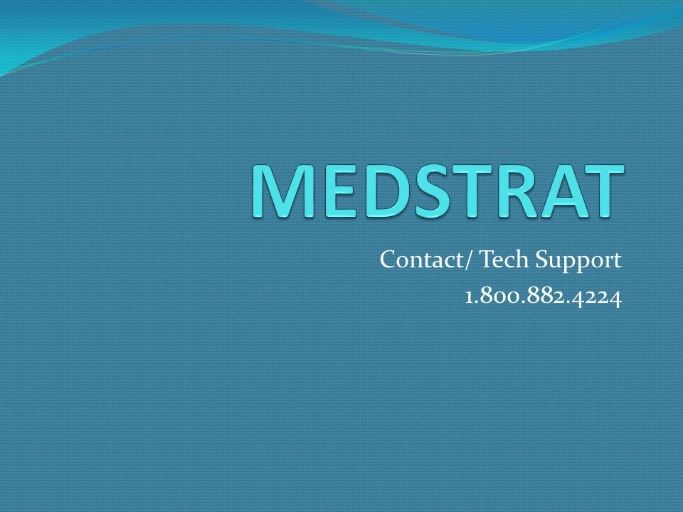 Contact/ Tech Support 1.800.882.4224